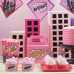 Pink Pop Art Party