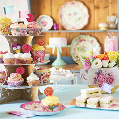 A Little Girls Tea Party Birthday Celebrate Every Day With Me