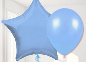 Baby Blue Balloons
