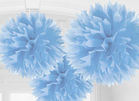 Baby Blue Decorations