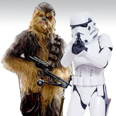 Star Wars Cutouts
