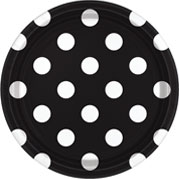 Black Dots & Chevrons