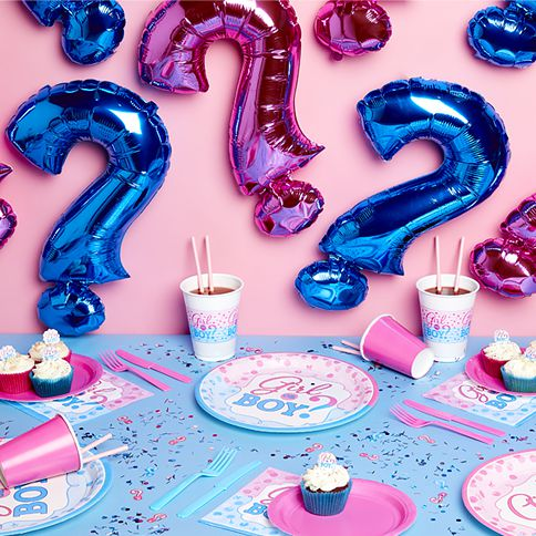 Gender Reveal Party Supplies \u0026 Decorations