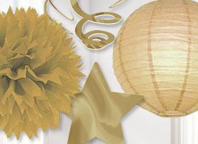 gold decorations - Gold Decorations
