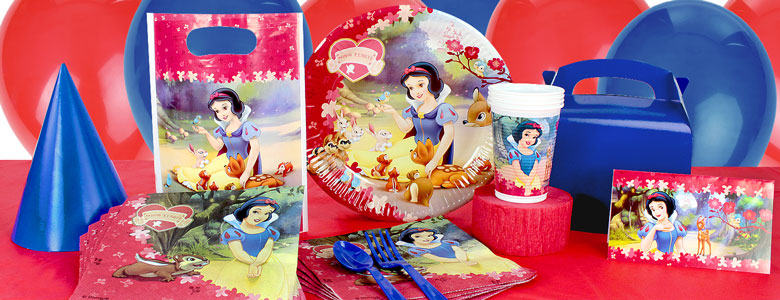 Snow White Party Supplies Woodies Party