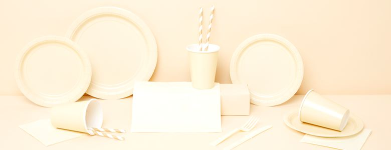 Ivory Party Tableware