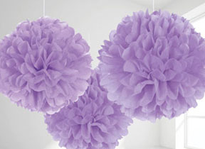 Lilac Decorations