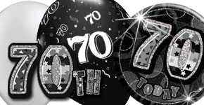 70th Black & Silver Theme