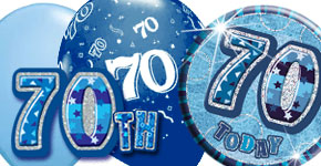 70th Blue Theme