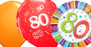 80th Colourful Theme