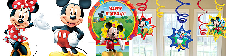 Mickey & Minnie Decorations