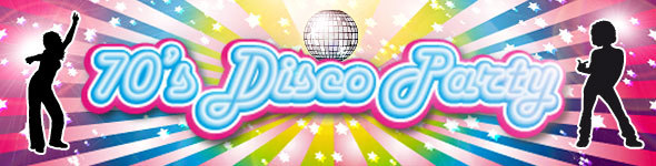 70s Disco Dancer Tableware Partyware Party Delights