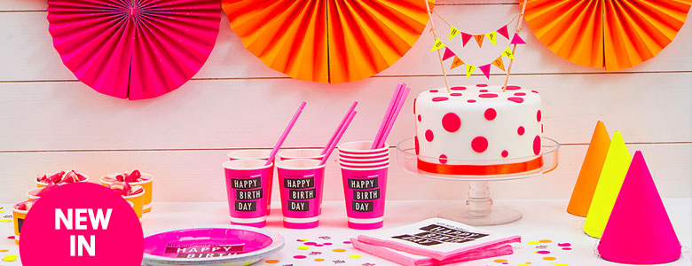 Neon Party Party Supplies
