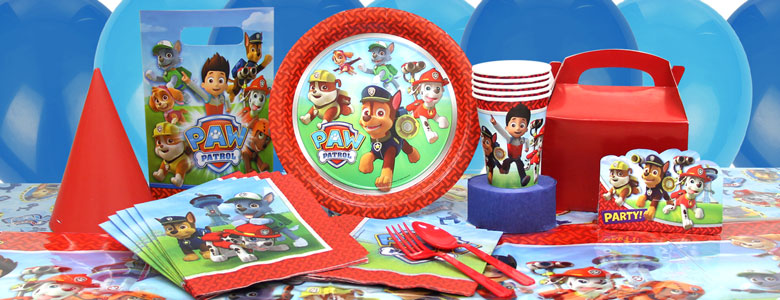 Paw Patrol Party Supplies | Party Delights: https://www.partydelights.co.uk/themes/paw-patrol-party-supplies.aspx