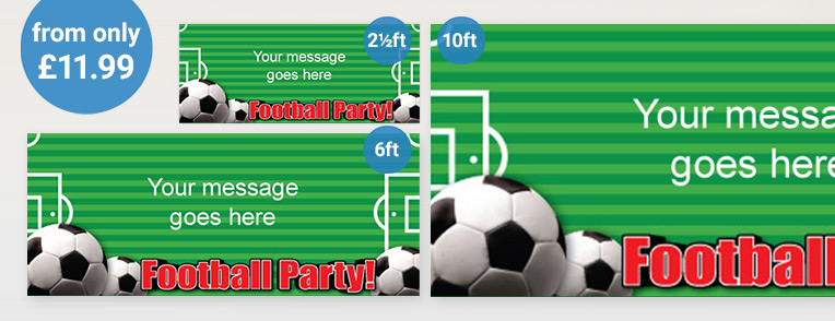 Personalised Sports Banner