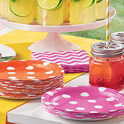 Plain Colour Partyware