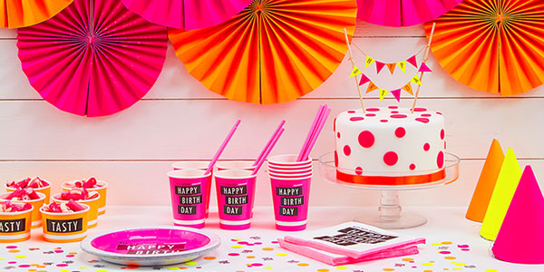 Neon Party Supplies