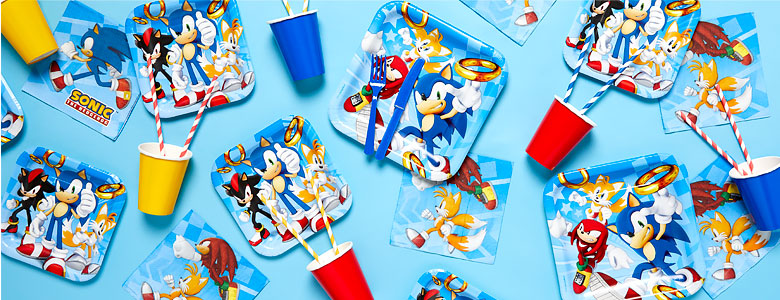 Sonic The Hedgehog Party Supplies Woodies Party