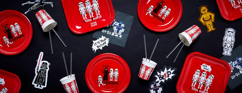 Star Wars Cartoon Party Supplies