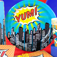 Pop Art - Superhero Party