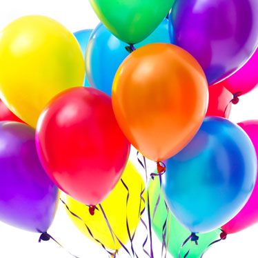 Plain Balloons Party Delights