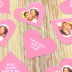 Personalised Table Confetti