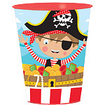 Little Pirate Plastic Favour Cup - 455ml