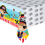 Little Pirate Plastic Tablecover - 1.2m x 1.8m