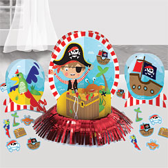 Little Pirate Table Decoration Kit