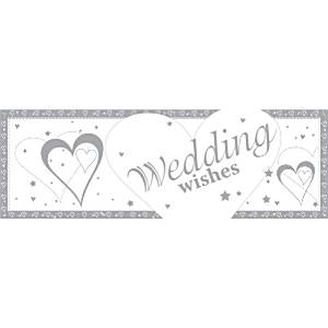 Loving Hearts Wedding Giant Banner