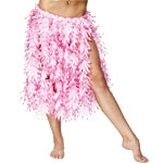 Pink Hawaiian Leaf Skirt - STD