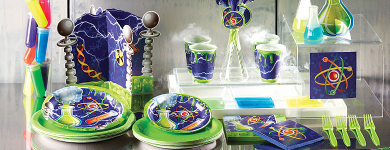 Mad Scientist Party Supplies