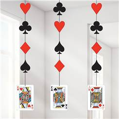 Magic Party Cards Hanging Cutouts - 91cm