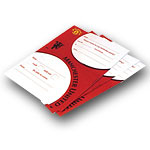 Manchester United FC Party Invitation Pad
