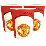 Manchester United FC Party Paper Cups 266ml
