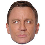 Celebrity Masks Daniel Craig Mask