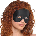 Black Gala Eye Mask