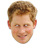 Prince Harry - Celebrity Mask