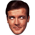 Celebrity Masks Roger Moore Mask