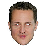 Michael Schumacher - Celebrity Mask