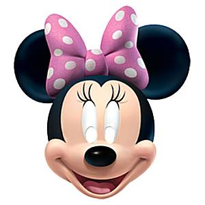 Minnie Mouse Mask Printable