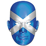 Scottish Flag Mask