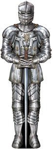 Jointed Suit Of Armor Cutout 0.9m