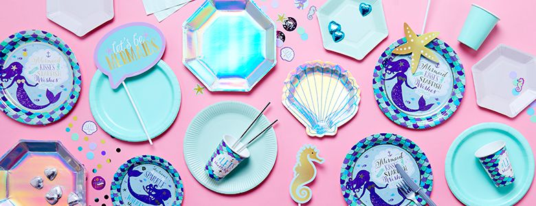 Mermaid Wishes Party Supplies