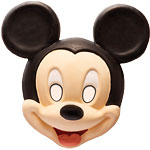 Mickey Mouse Mask Fancy Dress