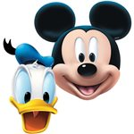 Mickey Mouse Card Party Masks - Assorted