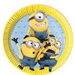 Despicable Me Plates - 23cm Paper Party Plates
