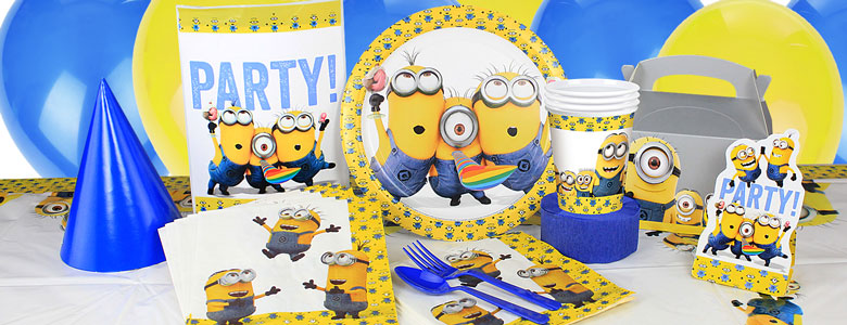 Minions Party Supplies Despicable Me Party Delights