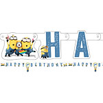 Minions Letter Banner - 1.8m