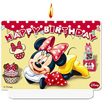 Minnie Mouse Cafe Candle